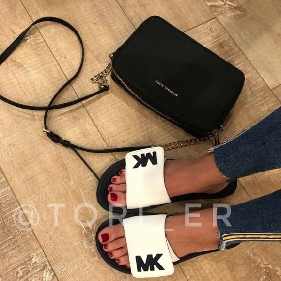 cc9318d2f9b2 Michael Kors Sport Slide Sandal